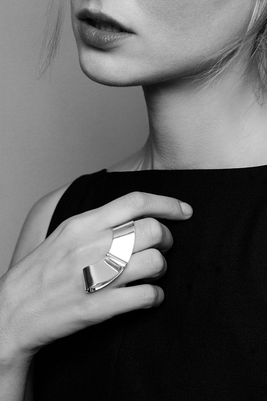 Mona Ring, 925 Sterling Silver