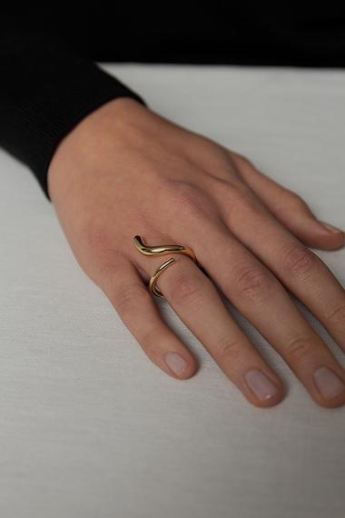 S Ring, Vermeil