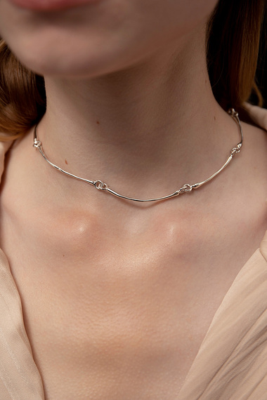 Articulated Choker Necklace