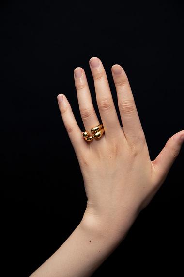 Open Ring, 18K Gold Vermeil